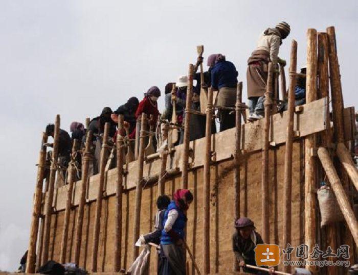夯土墙制作工艺
